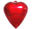 Heart shape usb Drive duplication